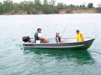 Meyers PRO 14 Aluminum Boat #000P-14